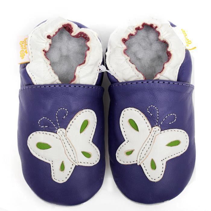 Cuir mocassins bébé Animal Kids chaussures garçon chausson doux seul bébé Chaussures shRh3Q5Q