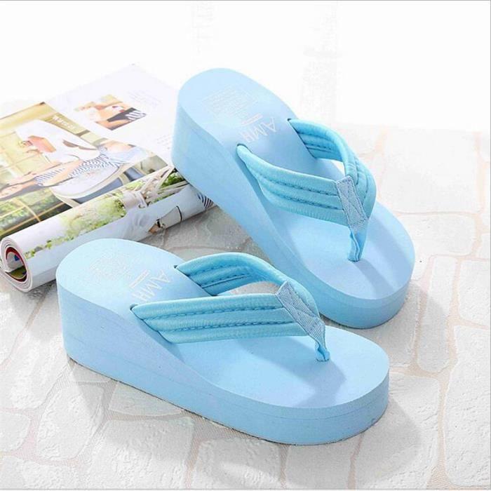 Chaussures pour femmes hauteur croissante rous d'aération pour la Respirabilité Confortable Accueil Pantoufles décontractée 2017