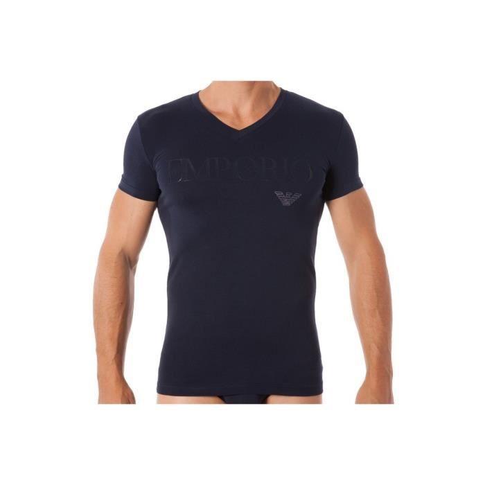 1dca813ee86 Tee-shirt EA7 Emporio Armani - Ref. 110810-7A516-00135 Bleu Bleu ...