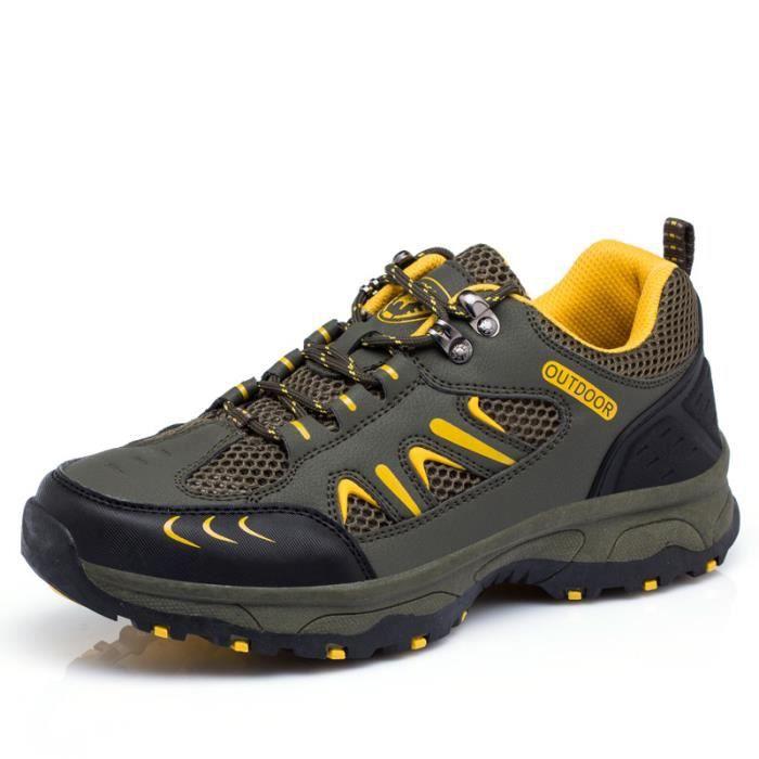 Basket outdoor Chaussures de trempage à mailles respirantes chaussures hors route résistantes à l'usure wAEEKF