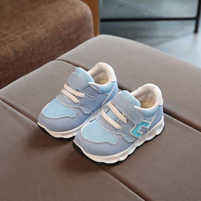 Enfants mode cool baskets respirant chaussures de sport pour enfants occasionnels garçons filles chaussures taille 21-30