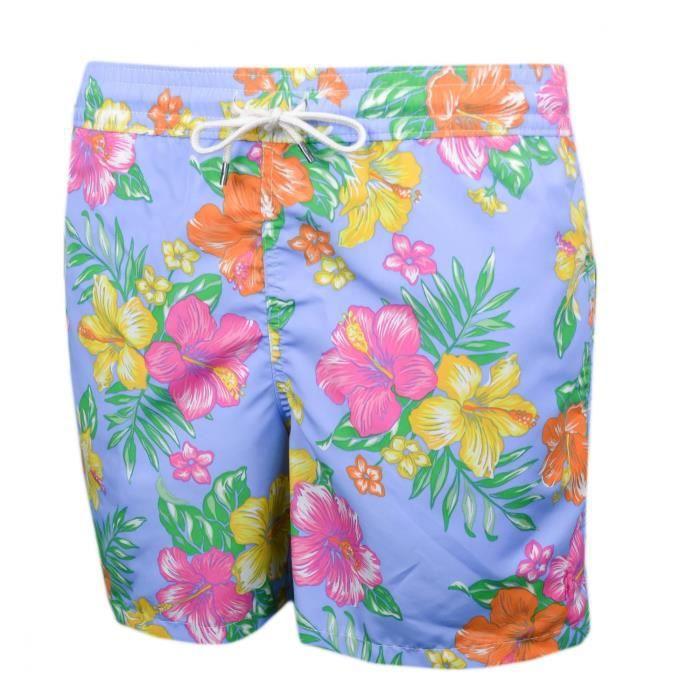 afcc548c57c Short de bain Ralph Lauren à motif fleur multicolore pour homme - Taille  S  - Couleur  Rose