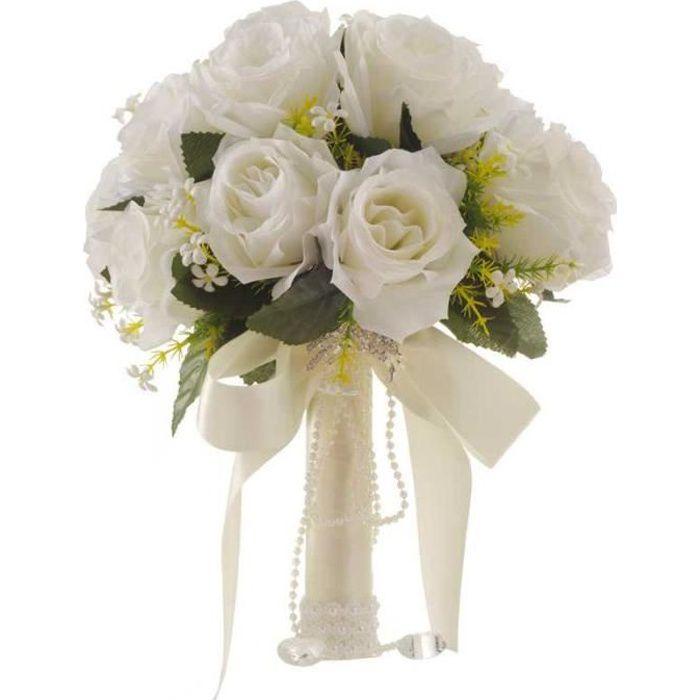 bouquet de mariage pour futures mariée rose romantique fleur bride