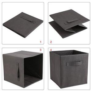 bacs de rangements en tissus achat vente bacs de. Black Bedroom Furniture Sets. Home Design Ideas