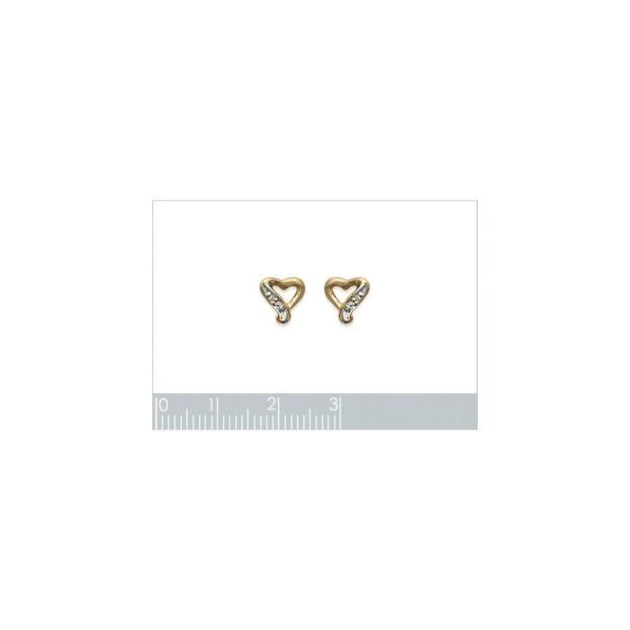 Isady - Annalisa Gold - Boucles doreilles - Plaqué or jaune 18K - Clous doreilles - Oxyde de zirconium