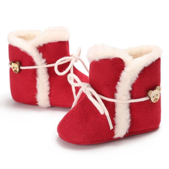 Bottines Femmes Deer Snow Boots hiver Coton-rembourré Chaussures YLG-XZ033Bleu39 6gJGL
