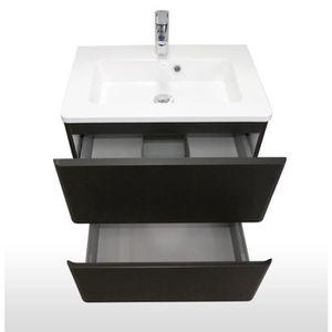 meuble salle de bain noir achat vente meuble salle de bain noir pas cher. Black Bedroom Furniture Sets. Home Design Ideas