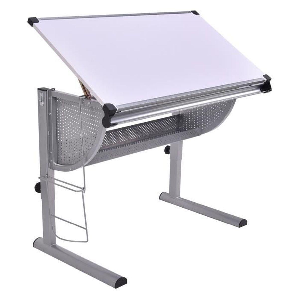 table dessin inclinable table de r daction hauteur et. Black Bedroom Furniture Sets. Home Design Ideas
