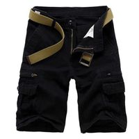 Bermuda Homme Gris Marque Luxe Shorts Camouflag...