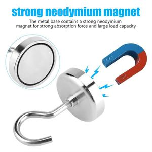 VENTOUSE - CROCHET Crochet magnétique en métal crochet de suspension
