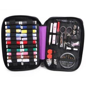 45 pc Kit de couture avec bobines de Assortiment Couleur fil de base à COUDRE /& Kit Réparation