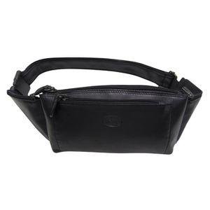 671de7f82831 SAC BANANE Pochette ceinture Francinel noir 24,5 (L) x 16 (H