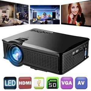 Vidéoprojecteur LCD Mini Projecteur Home Cinéma Théâtre Film LED P
