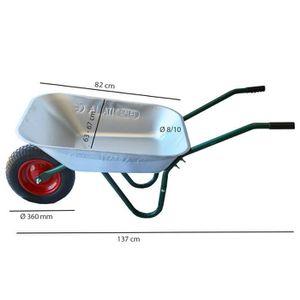 brouette de jardin a 2 roue achat vente pas cher. Black Bedroom Furniture Sets. Home Design Ideas