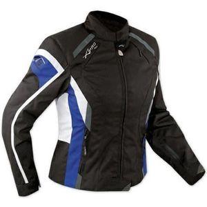 BLOUSON - VESTE Blouson Femme Textile Moto Prote...