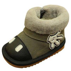BOTTINE Bottes de Neige Bébé Enfant Boots Chaussures Premi