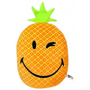 PELUCHE Nici 39313 - Smiley - Coussin Ananas - 32 X 25 Cm
