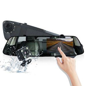 BOITE NOIRE VIDÉO Dashcam voiture rétroviseur full HD 1080P écran ta