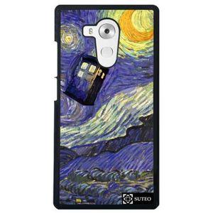 COQUE - BUMPER Coque Huawei Mate 8 - La nuit étoilée de Vincent V
