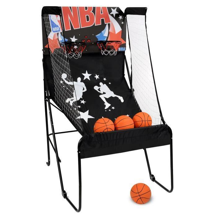nba panneau de basket d 39 int rieur electronique duel shoot. Black Bedroom Furniture Sets. Home Design Ideas