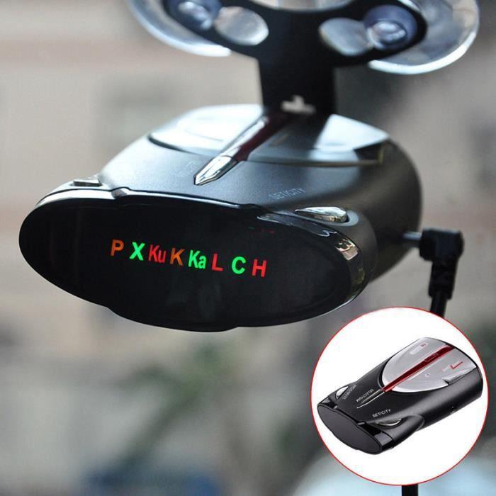 360 degrés Voiture Mobile Laser Vitesse détecteur de radar vocal d'alerte Warn 800 ~ 1200m