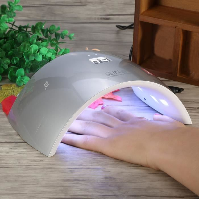 24w Sun Uv Led Manucure Capteur Ongles Lampe Professionnelle D 80PwnOk
