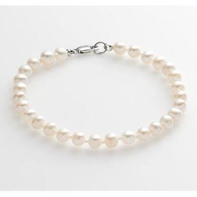 BRACELET , GOURMETTE Bracelet Perles De Culture D\u0027eau Douce Argent 925