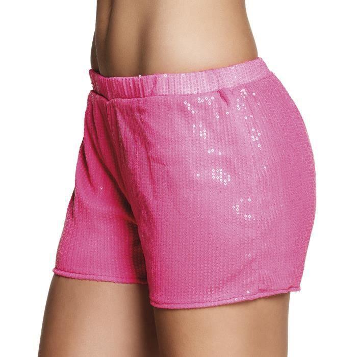 eaec5e7627 Mini short sequins rose fluo taille M - Achat / Vente accessoire ...