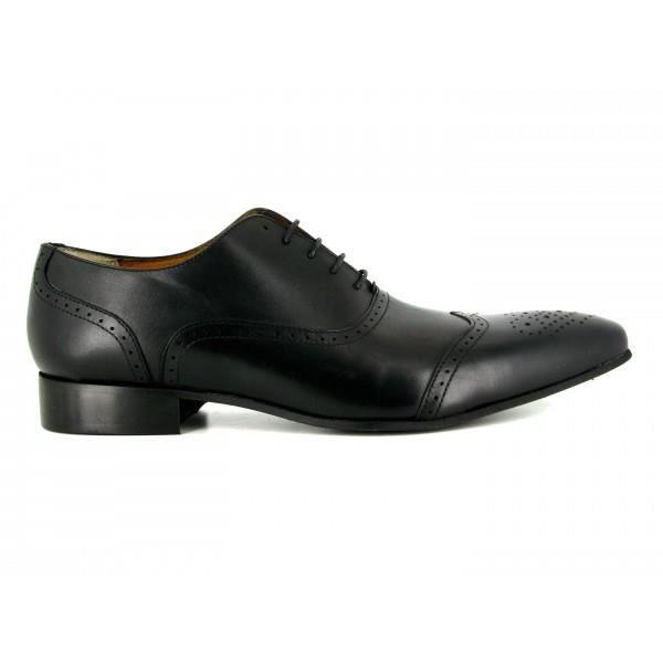 J.BRADFORD Chaussures Homme Cuir Noir JB-DANIEL - Couleur - Noir yDHQYJgIdk