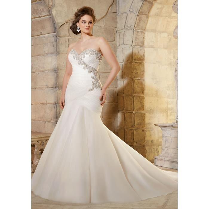 192b72706d0 Robe de mariee taille 48 - Achat   Vente pas cher