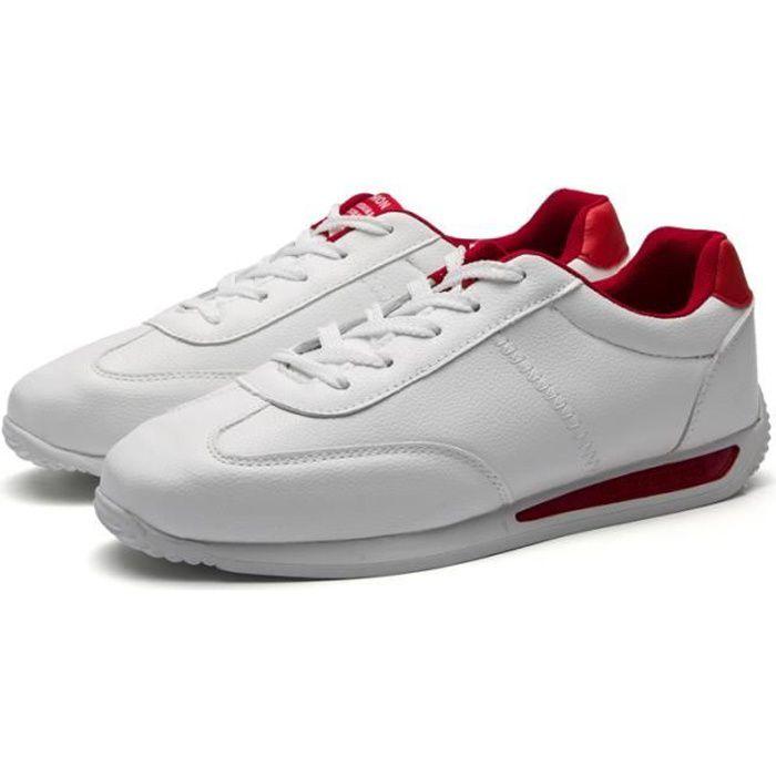 1b7518b0e786 Basket Chaussure Homme Pas Cher Marque Chaussures de sport Rouge ...