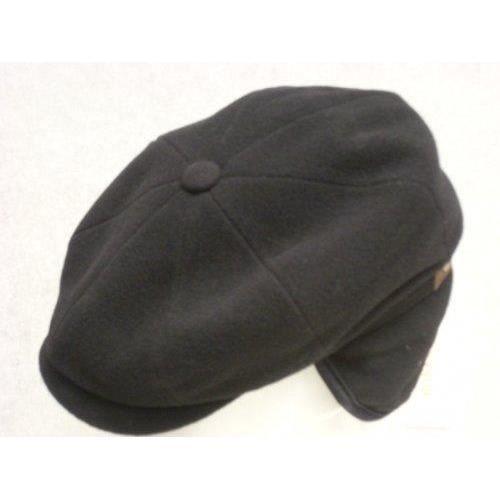 grand choix de 739ea 39e64 Stetson Casquette Gavroche Hatteras Earflaps Wool/Cashmere Homme - noir