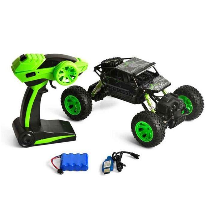 STOEX® Vert 2.4 GHz Voiture Electrique RC télécommande 4WD d escalade 4x4  Double Motors jouet cadeau garçon enfant e3aaff9f8ea