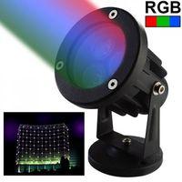 projecteur ext rieur led spot lumineux rgb vert achat vente projecteur ext rieur. Black Bedroom Furniture Sets. Home Design Ideas
