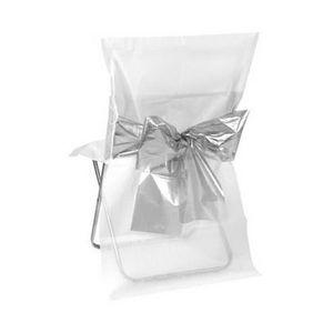 Housse de chaise blanc achat vente pas cher cdiscount - Housse de chaise blanche mariage pas cher ...