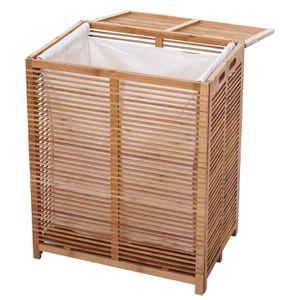 d42d716b4821 Panier à linge bambou - Achat   Vente Panier à linge bambou pas cher ...