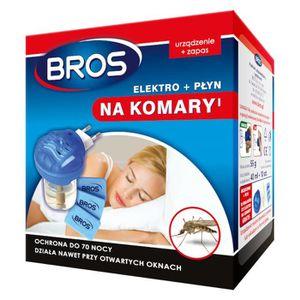 RÉPULSIF NUISIBLES JARDIN Eléctrofumigateur + liquide anti-moustiques Bros