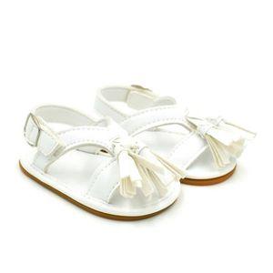 BOTTE Nouveau-né bébé garçon fille gland étape chaussures sandales chaussures molles chaussures antidérapantes@BlancHM bGGWR8qu