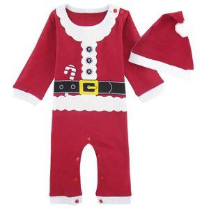 f8aea44d5f47e COSTUME - TAILLEUR Déguisement Bébé Fille Barboteuse Père Noël Veteme