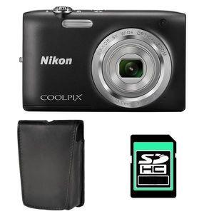 prix imbattable lisse Nouveaux produits NIKON COOLPIX S2800 NOIR + ETUI + SD 4 Go - Achat / Vente ...