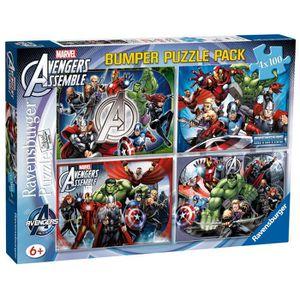 PUZZLE AVENGERS Puzzle 4 x 100 pcs