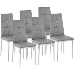 chaise 6 chaises de salle manger chaises de cuisine m - Chaise De Salle A Manger