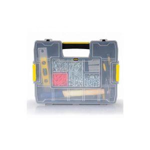LOT OUTILS DE JARDIN Superbe Stanley boîte à compartiments empilable
