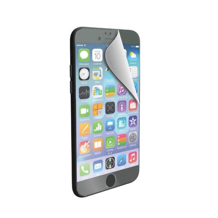 MUVIT Film protecteur - Mat et Glossy - Anti traces de doigt - Pour Apple Iphone 6, 6s +