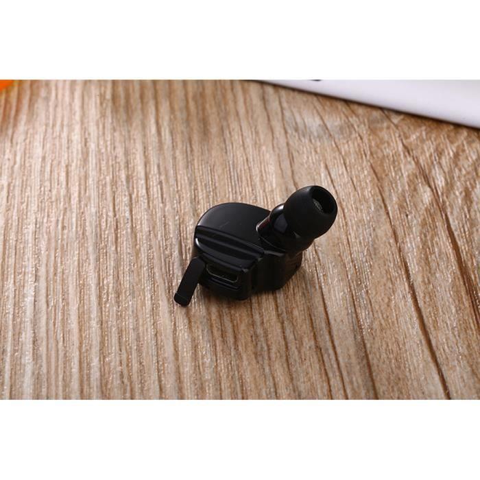 Bluetooth 4.2 Mini In-ear Sans Fil Sport Oreillettes Casque Stéréo Écouteurs Em11830