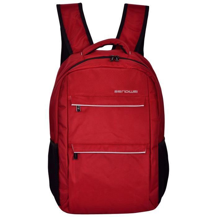 Nylon 15 de Red 14,5 litres Sac à dos pour ordinateur portable de hommes ZZ22F