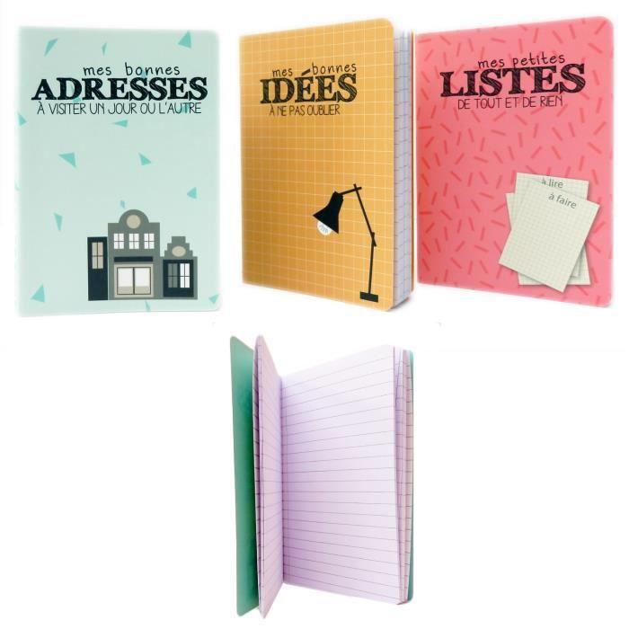 Accessoires Ecriture Dessin Format De Poche Mignon Carnet