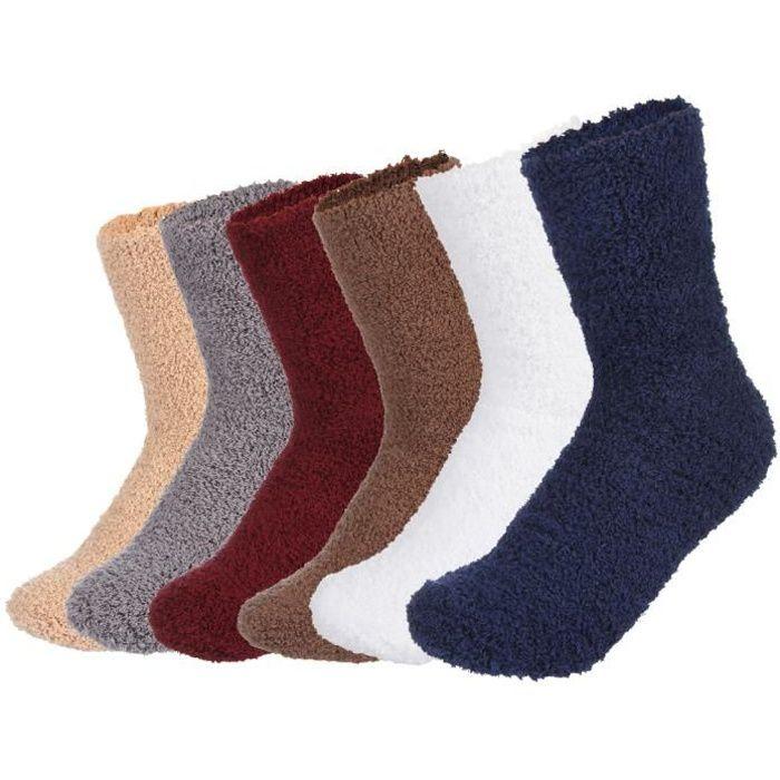 chausson chaussette adulte achat vente pas cher. Black Bedroom Furniture Sets. Home Design Ideas