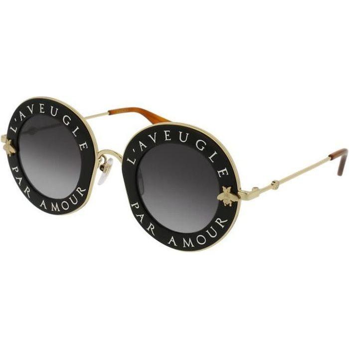 LUNETTES DE SOLEIL Lunettes de soleil Gucci L aveugle par amour GG011 7731f0e5db4e