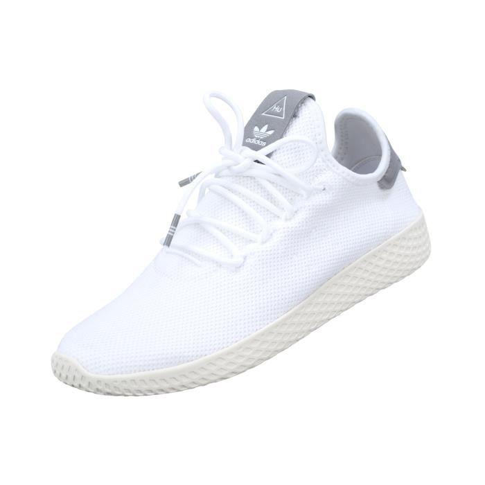 2590dab98 Basket Adidas Pw Tennis Hu B41793 White Grey Blanc Blanc - Achat ...